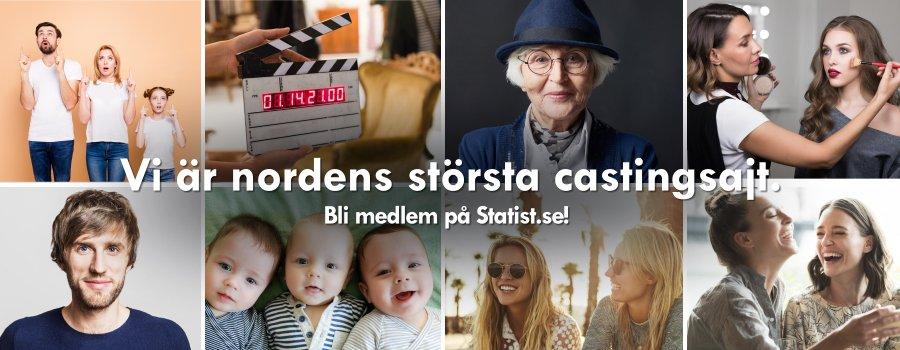 Modell - Extrajobb. Minimodeller till roligt uppdrag! , Lön: 6 000 kr at Statist.se