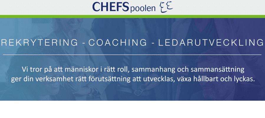 Chefspoolen söker Rekryteringskonsulter med affärssinne på Chefspoolen i Sverige