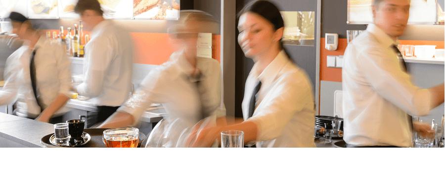 Cafevärdinna på SSP