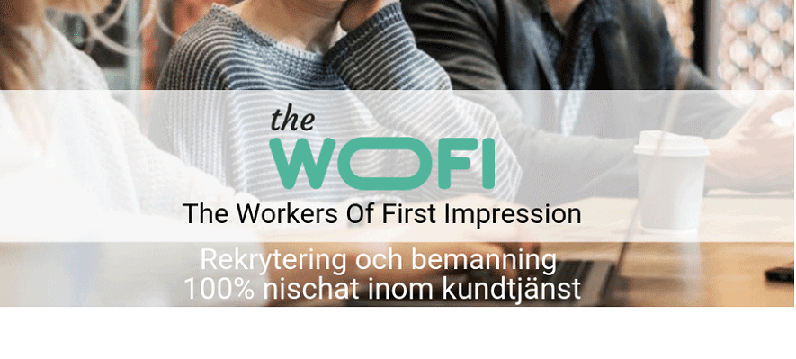 Spontanansökan - Sommarjobb inom kundservice på The Workers of First Impression