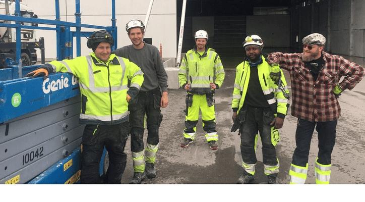 Grovarbetare / Betongarbetare i Stockholm på Olsson Berglin AB
